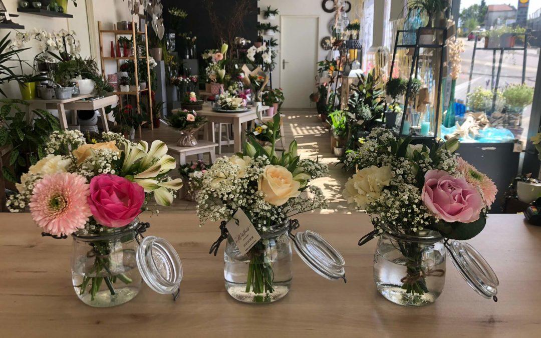 Choisir sa composition florale de Noël à Saint-Avold avec M Les fleurs